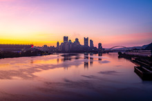 Dawn Over Pittsburgh From The ...