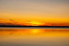 Sunset At Glenwood Beach Park ...