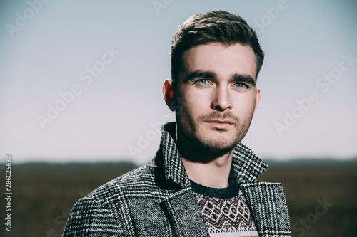 brutal handsome man Fototapet
