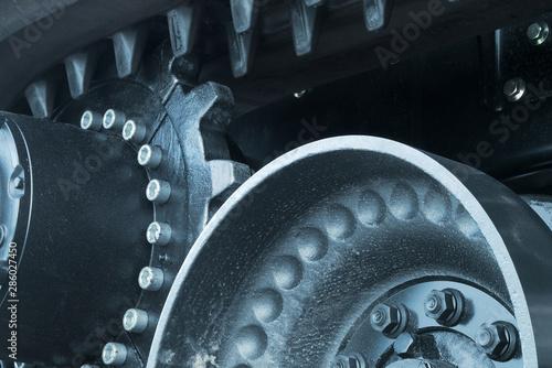 gear wheel transmission machine mechanic power industrial engine engineering tec Wallpaper Mural