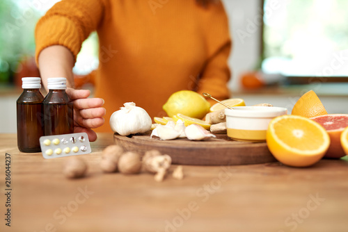 Natural medicine make you are healthier Tablou Canvas