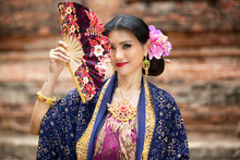 Balinese Woman In Traditional ...