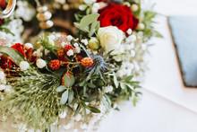 Tischdekoration Hochzeit Vinta...