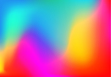 Background Colorful Halftone Gradient Vector Background