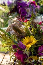 Floristic Bouquet Of Flowers, ...