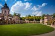 canvas print picture - Moscheengarten im Schwetzinger Schlosspark