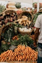Carrots At Market