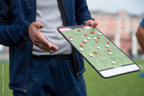 Fotografía Football tactic education