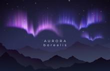 Aurora Borealis Vector Illustr...
