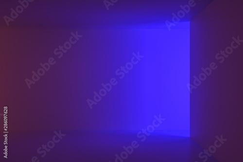Abstract purple interior backdrop - 286097628