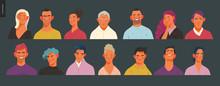 Real People Portraits Set - Ha...