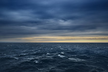 Seascape With Offshore Wind Tu...