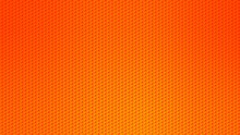 Blurred Background. Circle Dots Pattern. Abstract Orange Gradient Design. Round Spot Texture Background. Landing Blurred Page. Circles Bubble Or Dots Pattern. Vector