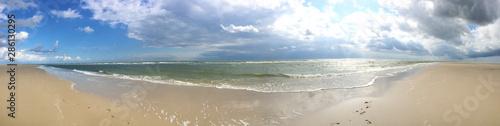 Nordseeküste, Strand beim Wittdün, Insel Amrum Fototapet