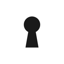 Key Hole Icon. Security, Prote...