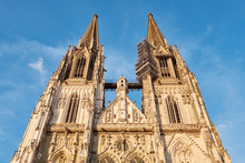 Germany, Regensburg, Cathedral Of St Peter