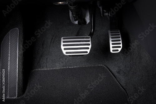 Photo Brake and accelerator pedal