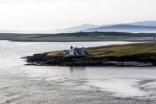 Great Britain, Scotland, Orkney Islands, Shapinsay, Light House Heliar Holm