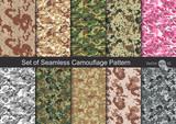 Fototapeta Kosmos - Seamless Camouflage pattern vector
