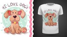 Dog, Puppy - Idea For Print T-shirt