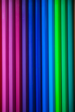 Colorful Color Pencils As Back...