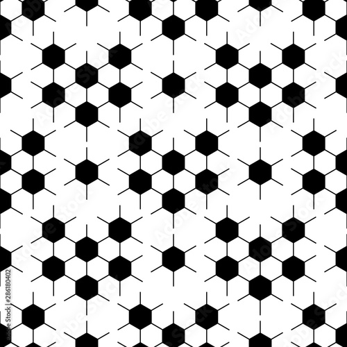 black-and-white-hexagon-soccer-ball-seamless-pattern-vector