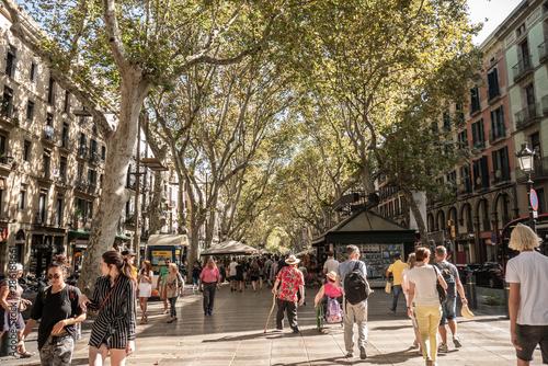 barrio gotico barcelona Wallpaper Mural