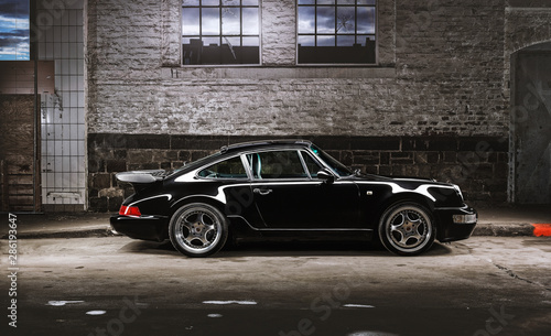 Vintage Porsche 911 Car Canvas Print