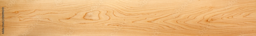 Fototapeta Perfect, very long & wide, wood panorama for banners, design and headers - in beautiful patterns of natural wooden grain.