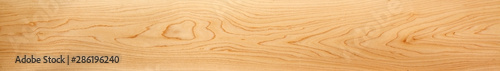 Perfect, very long & wide, wood panorama for banners, design and headers - in beautiful patterns of natural wooden grain. - 286196240