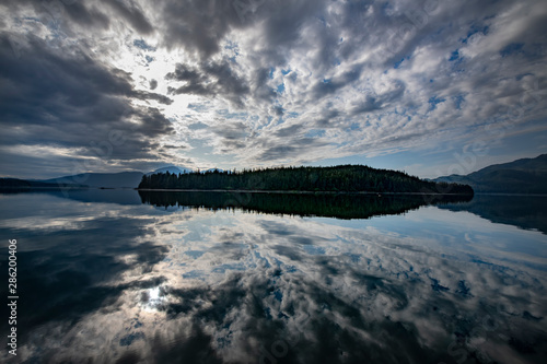 Sunrise near Pack Creek, Admiralty Island, Alaska Canvas Print