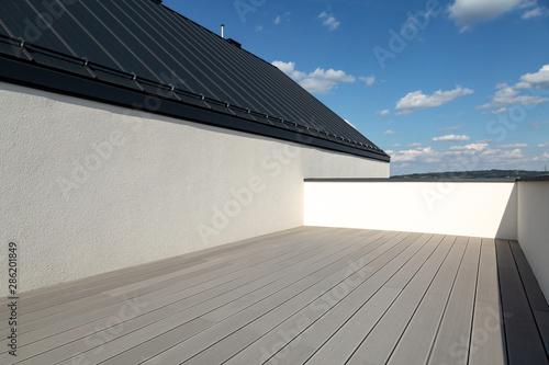 Fotografia Luxurious modern house in a developer standard