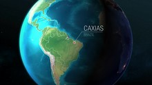 Brazil - Caxias - Zooming From...