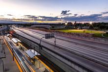I-25 And Light Rail Station Ti...