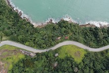 Aerial View Of Br 101, Rio San...