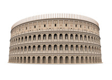 Roman Colosseum Isolated