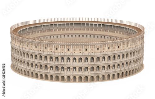 Fényképezés  Roman Colosseum Isolated