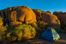 Camping In Joshua Tree National Park,  California