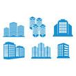 building icon vector design symbol