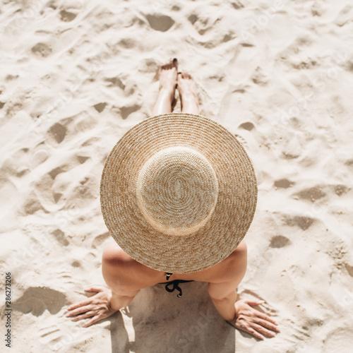 Summer travel fashion concept Fototapeta