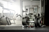 Gym interior and free space for your decoration.