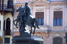 Macédoine Du Nord : Statue De...