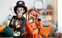 Happy Halloween! Two Children ...
