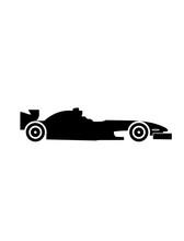 Fastest Racecar Vector Formula One F1 Car Vector Isolated