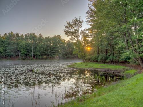 Valokuva  On small pond in Upstate New York