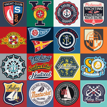 Sailing And Yachting Badges An...