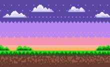 Nobody Interface Of Pixel Game...