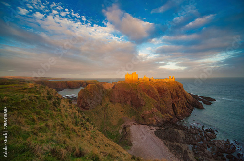 Photo Dunottar Castle, Schottland, United Kingdom, Großbrittannien, Europa