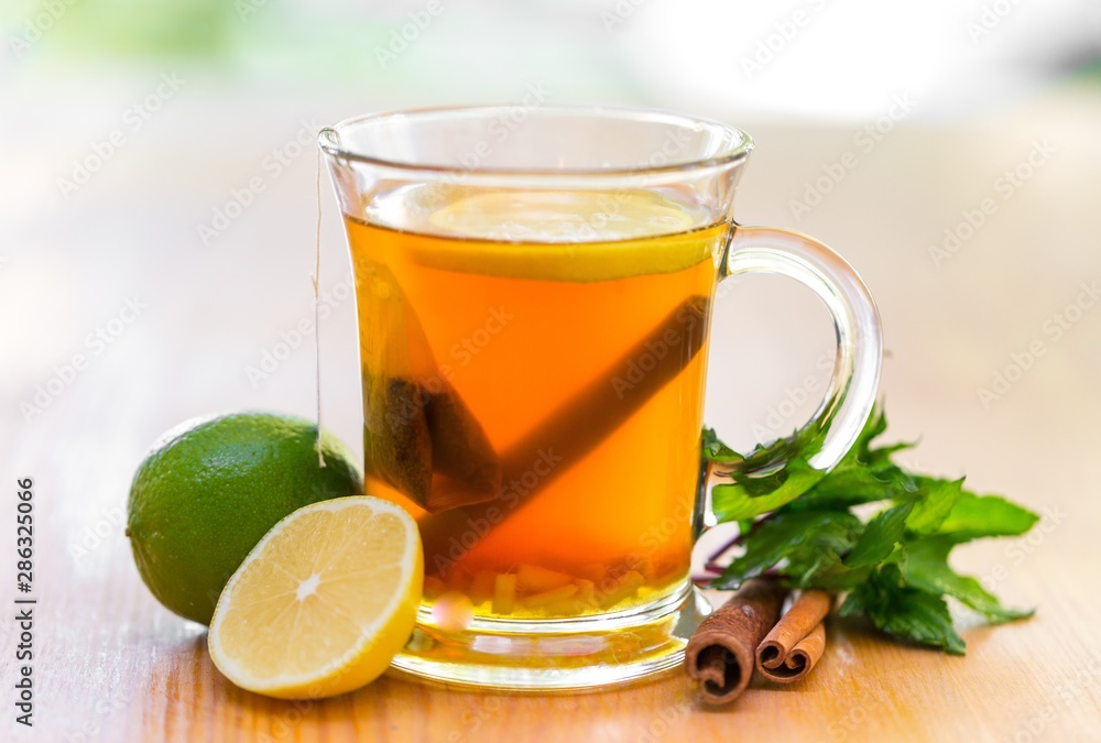 Fototapety, obrazy: Glass of Tea