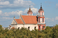 Church Of St. Philip And St. Jacob In Vilnius